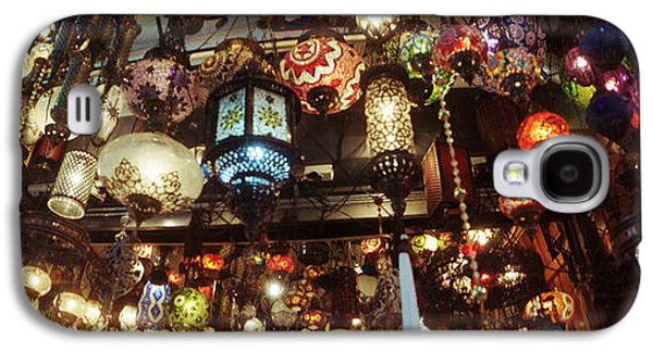 Business Galaxy S4 Cases - Colorful Lamps In The Grand Bazaar Galaxy S4 Case by Panoramic Images