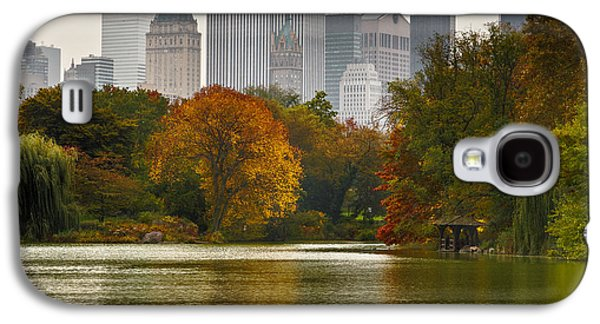 Timing Galaxy S4 Cases - Colorful magic in Central Park New York City Skyline Galaxy S4 Case by Silvio Ligutti