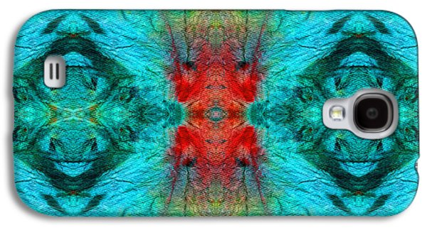 Mystic Paintings Galaxy S4 Cases - Colorful Patterns - Life Circles - By Sharon Cummings Galaxy S4 Case by Sharon Cummings