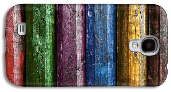 Painted Details Galaxy S4 Cases - Colorful poles  Galaxy S4 Case by Carlos Caetano