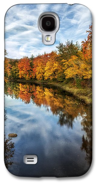 Beauty Mark Photographs Galaxy S4 Cases - Colorful Reflection Galaxy S4 Case by Mark Papke
