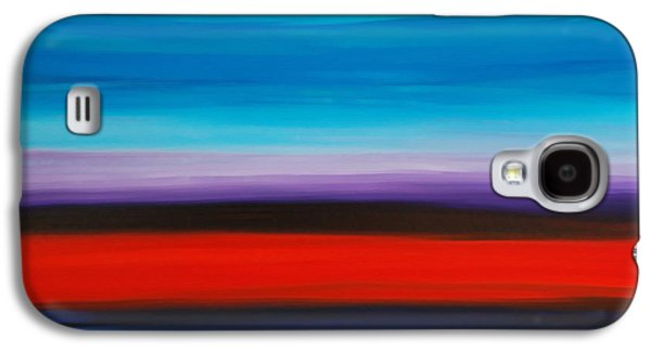 Color Block Galaxy S4 Cases - Colorful Shore - Abstract Art By Sharon Cummings Galaxy S4 Case by Sharon Cummings