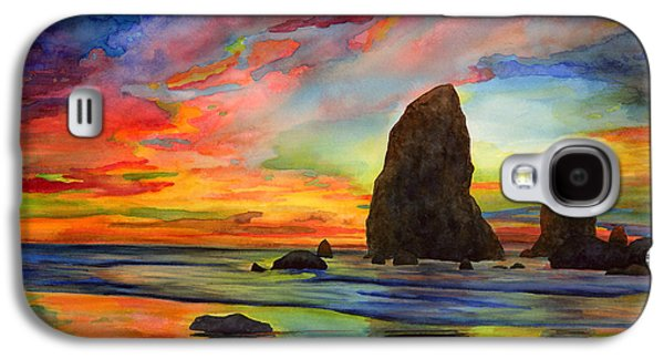 Landscape Greeting Cards Galaxy S4 Cases - Colorful Solitude Galaxy S4 Case by Hailey E Herrera