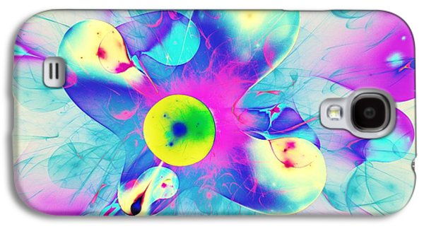 Best Sellers -  - Girl Galaxy S4 Cases - Colorful Splash Galaxy S4 Case by Anastasiya Malakhova