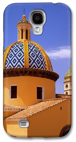Colorful Tiled Dome Of Chiesa San Galaxy S4 Case by Brian Jannsen