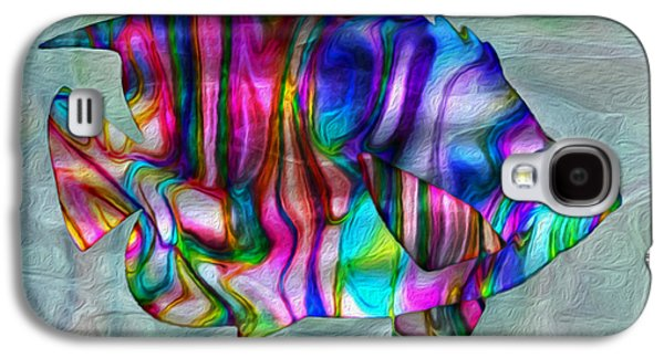 Colorful Tropical Fish Galaxy S4 Case by Jack Zulli