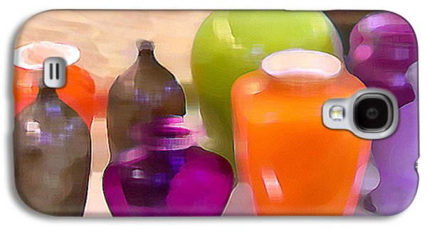 Colorful Vases I - Still Life Galaxy S4 Case by Ben and Raisa Gertsberg
