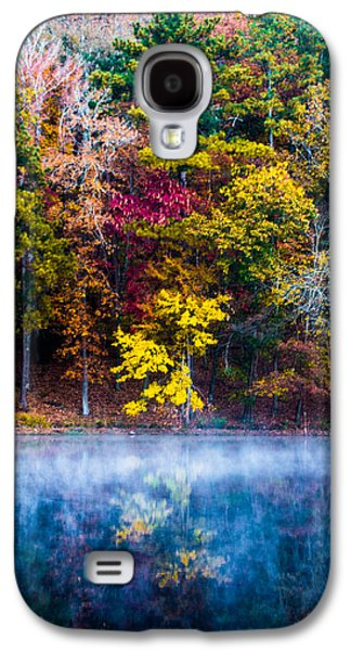 Fall Trees Fall Color Galaxy S4 Cases - Colors In Early Morning Fog Galaxy S4 Case by Parker Cunningham