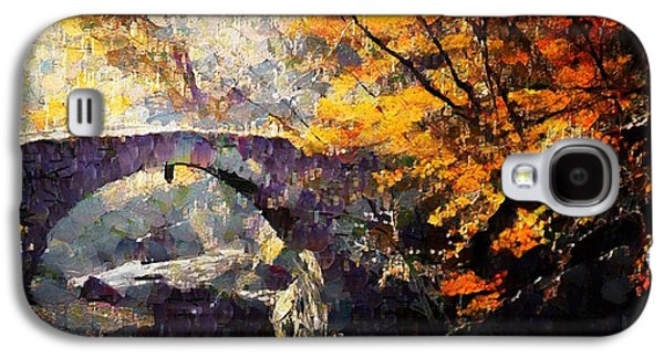 Reflections In Water Galaxy S4 Cases - Colors of Autumn Galaxy S4 Case by Gun Legler