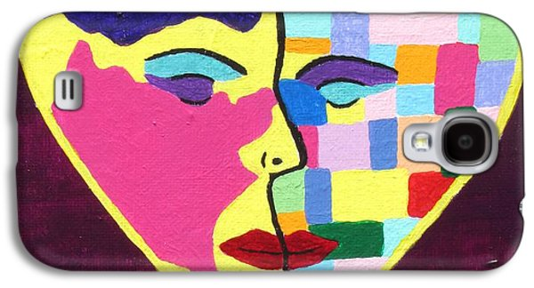 Inner Self Galaxy S4 Cases - Colors Of Love Third In The Women Series Galaxy S4 Case by Annie Zeno