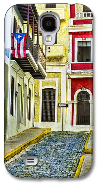 Quaint Photographs Galaxy S4 Cases - Colors of Old San Juan Puerto Rico Galaxy S4 Case by Carter Jones