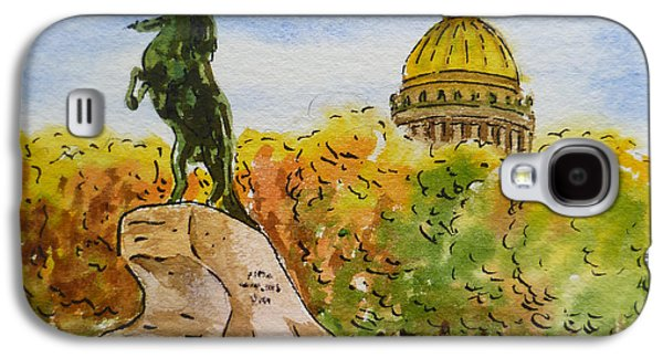 City Scape Galaxy S4 Cases - Colors Of Russia Monuments of Saint Petersburg Galaxy S4 Case by Irina Sztukowski