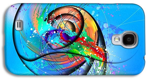 Expressionism Galaxy S4 Cases - Colorwave Galaxy S4 Case by Franziskus Pfleghart