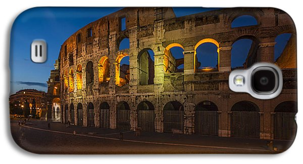 Columns Galaxy S4 Cases - Colosseum Galaxy S4 Case by Erik Brede