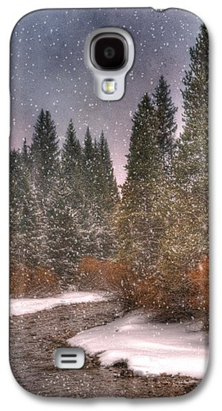 Scenic Drive Galaxy S4 Cases - Colours of Winter Galaxy S4 Case by Juli Scalzi