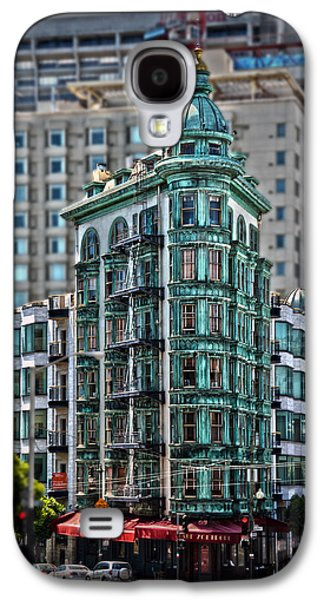 Francis Ford Coppola Galaxy S4 Cases - Columbus Tower in San Francisco Galaxy S4 Case by RicardMN Photography