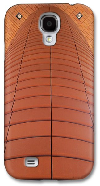 Uptown Charlotte Galaxy S4 Cases - Column Of Strength Galaxy S4 Case by Randall Weidner