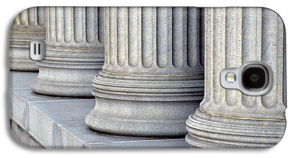 Columns Galaxy S4 Cases - Columns Galaxy S4 Case by Jon Neidert