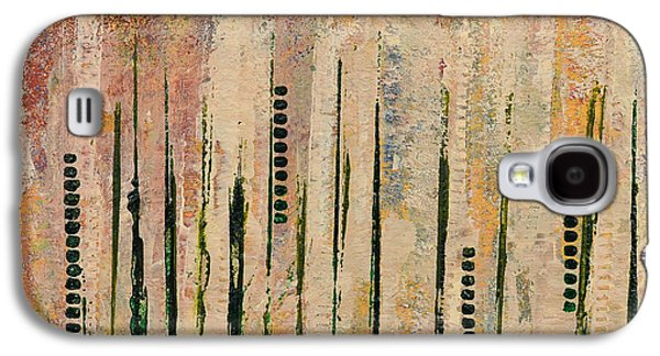 Abstract Movement Mixed Media Galaxy S4 Cases - Columns Galaxy S4 Case by Moon Stumpp