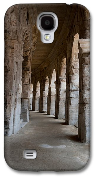 Arles Galaxy S4 Cases - Columns Of Amphitheater, Arles Galaxy S4 Case by Panoramic Images