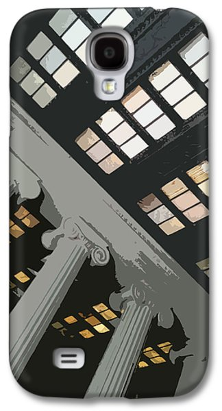 Greek Icon Paintings Galaxy S4 Cases - Columns Galaxy S4 Case by Julio R Lopez Jr