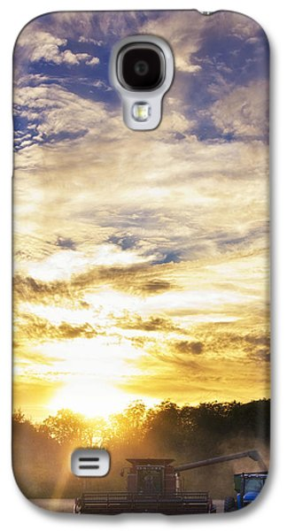 Surfer Magazine Galaxy S4 Cases - Combine at Sunset Galaxy S4 Case by Michael Huddleston