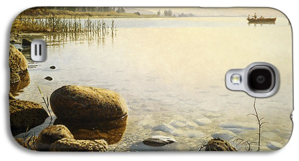 Stones Paintings Galaxy S4 Cases - Come follow Me Galaxy S4 Case by Graham Braddock