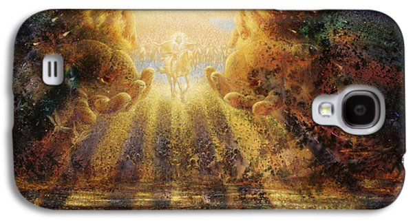 Holy Galaxy S4 Cases - Come Lord Come Galaxy S4 Case by Graham Braddock