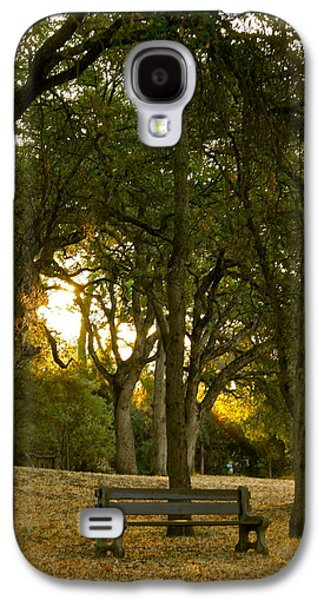 Contemplative Photographs Galaxy S4 Cases - Come Sit Awhile Galaxy S4 Case by Michele Myers