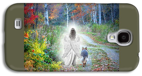 Come Walk With Me Galaxy S4 Case by Sue Long