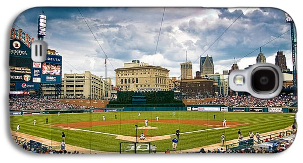 Urban Images Galaxy S4 Cases - Comerica Park Galaxy S4 Case by Cindy Lindow