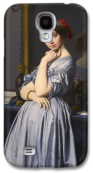 Chin On Hand Paintings Galaxy S4 Cases - Cometesse d Haussonville Galaxy S4 Case by Jean-Auguste-Dominique Ingres