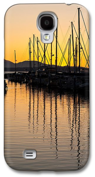 Docked Sailboat Galaxy S4 Cases - Coming In Galaxy S4 Case by Mike Reid