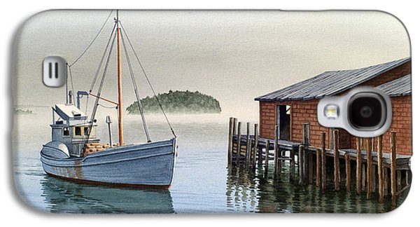Harbor Paintings Galaxy S4 Cases - Coming In Galaxy S4 Case by Paul Krapf