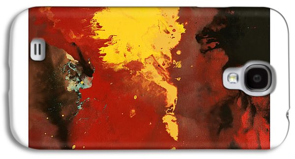 Abstract Digital Paintings Galaxy S4 Cases - Commissary 1 Galaxy S4 Case by Craig Tinder