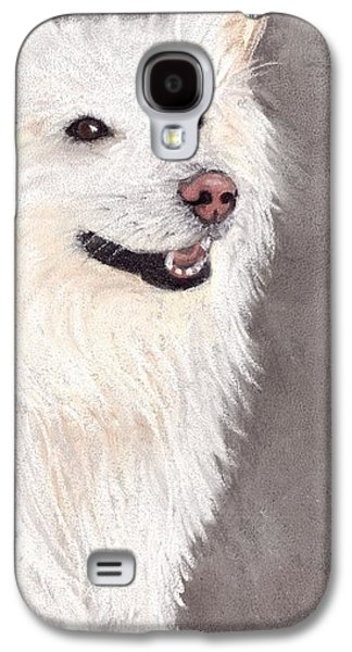 White Pastels Galaxy S4 Cases - Companion Galaxy S4 Case by Anastasiya Malakhova