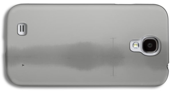 Contemplative Photographs Galaxy S4 Cases - Companions through the fog Galaxy S4 Case by Kunal Mehra