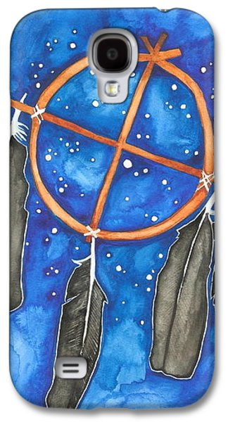 Compass Dreamcatcher Galaxy S4 Case by Cat Athena Louise