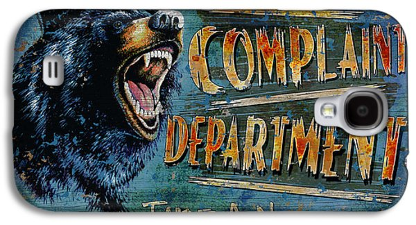 Growling Galaxy S4 Cases - Complaint Department Galaxy S4 Case by JQ Licensing