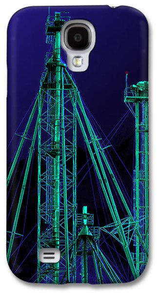 Photo Manipulation Galaxy S4 Cases - Complex Glow Galaxy S4 Case by Wendy J St Christopher