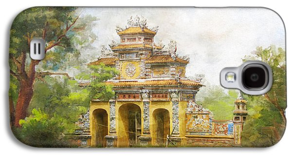 Museum Paintings Galaxy S4 Cases - Complex of Hue Monuments Galaxy S4 Case by Catf