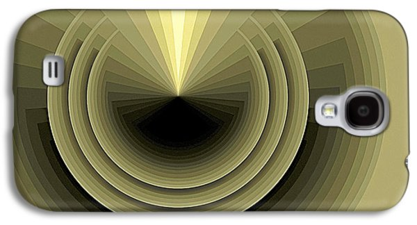 Modern Paintings Galaxy S4 Cases - Composition 120 Galaxy S4 Case by Terry Reynoldson