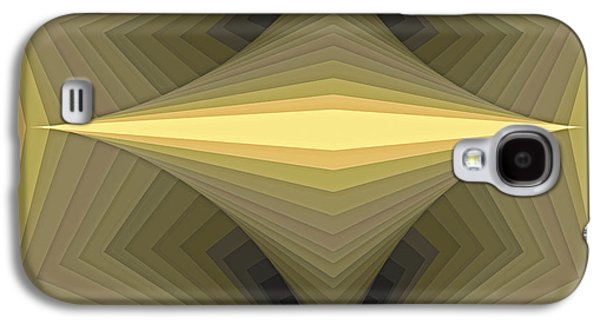 Modern Paintings Galaxy S4 Cases - Composition 147 Galaxy S4 Case by Terry Reynoldson