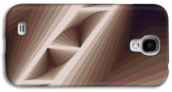 Modern Paintings Galaxy S4 Cases - Composition 165 Galaxy S4 Case by Terry Reynoldson