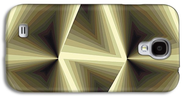 Recently Sold -  - Abstract Digital Paintings Galaxy S4 Cases - Composition 192 Galaxy S4 Case by Terry Reynoldson
