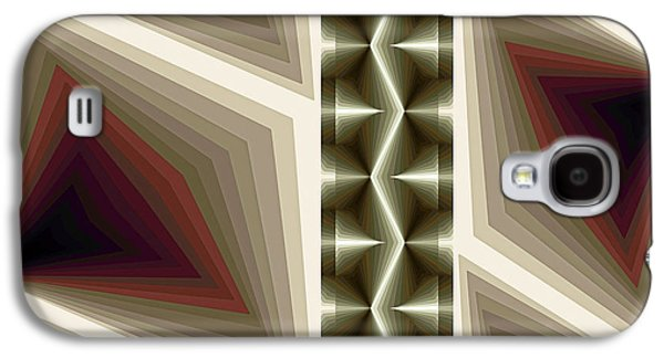 Geometry Paintings Galaxy S4 Cases - Composition 235 Galaxy S4 Case by Terry Reynoldson