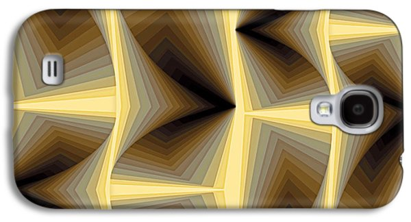 Geometry Galaxy S4 Cases - Composition 252 Galaxy S4 Case by Terry Reynoldson
