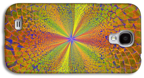 Digital Galaxy S4 Cases - Computer Generated Fractal Art Galaxy S4 Case by Keith Webber Jr