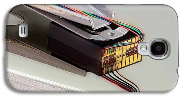 Computer Hard Disc Head Galaxy S4 Case by Antonio Romero