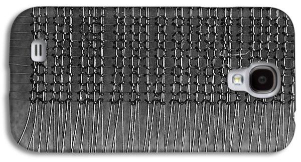 Computer Galaxy S4 Cases - Computer Memory Galaxy S4 Case by Rona Black